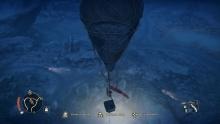 Balonem nad spowitym nocą pustkowiem