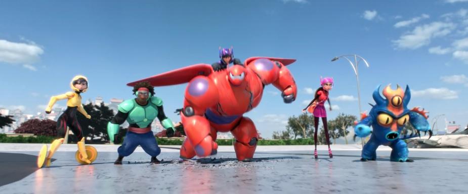 Wielka Szóstka w komplecie | Walt Disney Animation Studios (kanał YouTube)