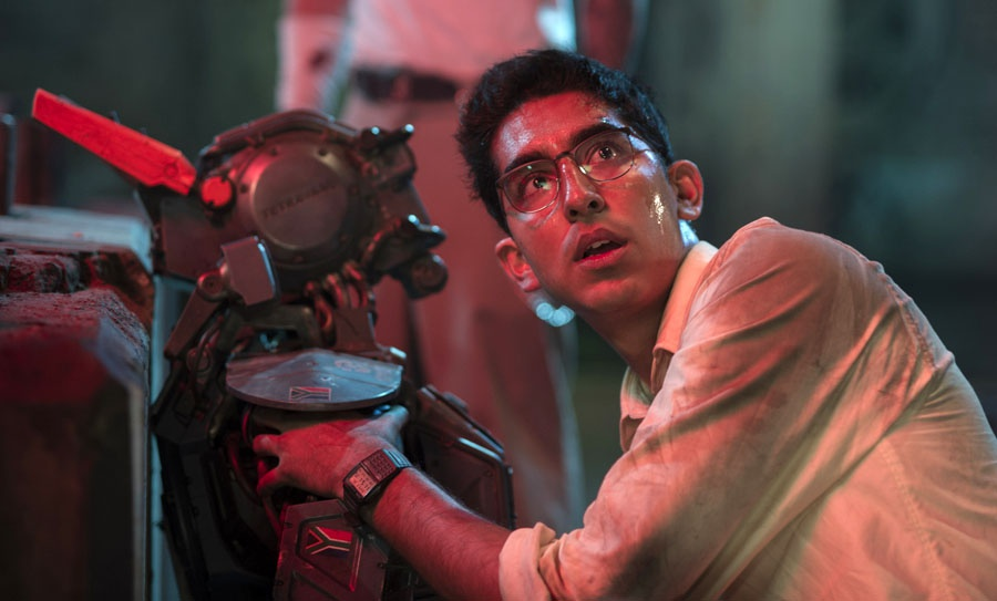 Sharlto Copley, Dev Patel | Źródło: filmweb