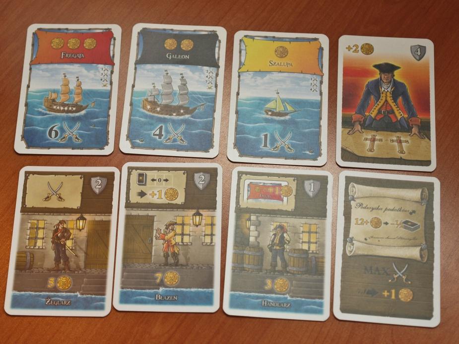 Rodzaje kart występujące w grze