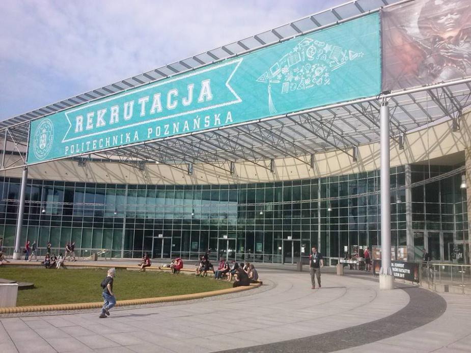 Główny gmach konwentu – Centrum Wykładowe Politechniki Poznańskiej