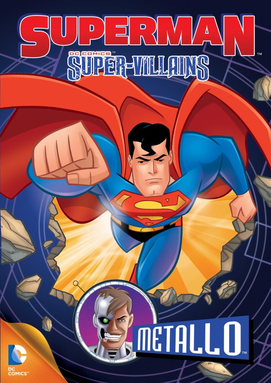Superman Super Villains: Metallo Torrent Dual Áudio (2014)