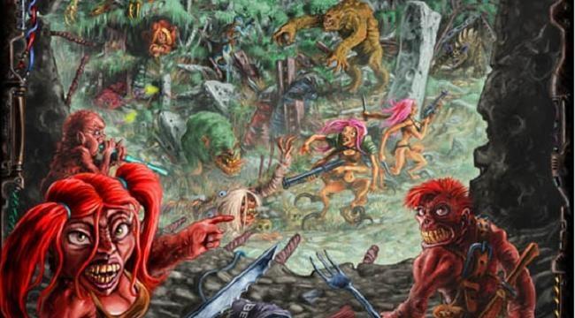 Dwudziestka drapieżnych dziwolągów