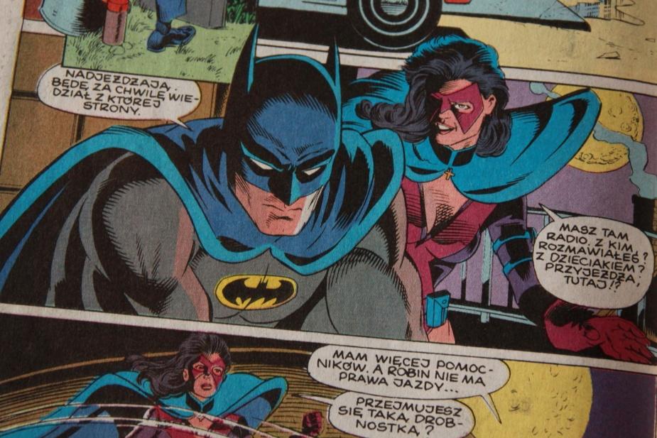 """Jedną z najdłużej wydawanych serii był """"Batman"""". Rysunek Grahama Nolana z numeru 11/94"""