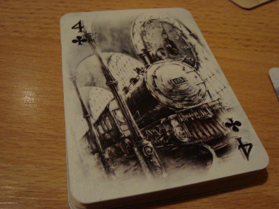 Jak na steampunk przystało, nie mogło zabraknąć motywu z parą, a właściwie parowozem.
