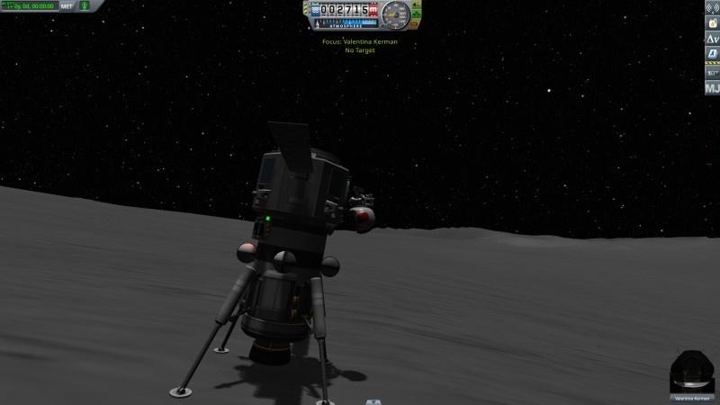 Możliwe tylko w KSP: zorientować się po wylądowaniu, że kabina w lądowniku jest do góry nogami