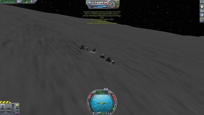 Sukces! Sejsmometr wychwycił efekty nagłego planowanego demontażu rakiety.