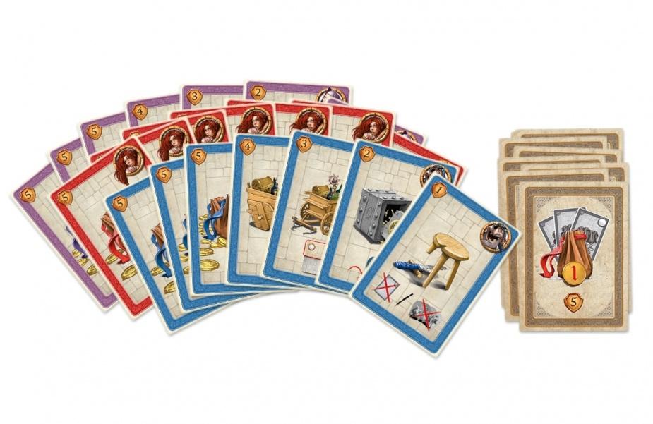 Karty z gry Chytrogród.