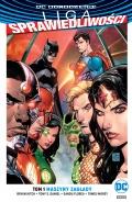 DC Odrodzenie. Liga Sprawiedliwości (wyd. zbiorcze) #1: Maszyny zagłady