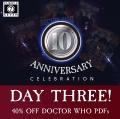 Jubileuszowa wyprzedaż Doctor Who RPG