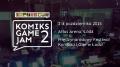Komiks Game Jam 2 w ramach 26. MFKiG w Łodzi