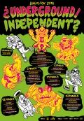 Komiks na festiwalu ¿UNDERGROUND/INDEPENDENT? 2016