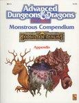 Monstrous Compendium Forgotten Realms Appendix II