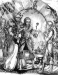 O Elfach Wysokiego Rodu i szkoleniu w używaniu wysokiej magii