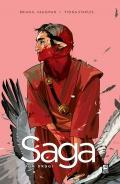 Przykładowe plansze komiksu Saga #2