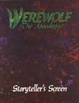 Werewolf Storyteller's Screen