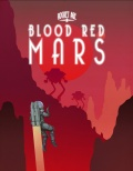 Widok na Krwistoczerwony Mars