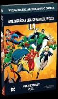 Wielka Kolekcja Komiksów DC Comics - 15 - Amerykańska Liga Sprawiedliwości JLA: Rok Pierwszy część 1.