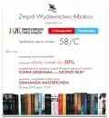 Wydawnictwo Albatros zaprasza na Warszawskie Targi Książki