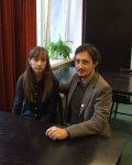 Wywiad z Marzeną Sową i Sylvainem Savoią