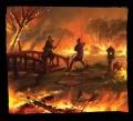 Zapłonęły ognie sprawiedliwości