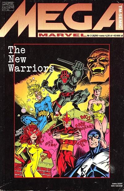 Mega Marvel #08 (31995): The New Warriors Komiks