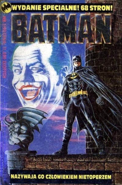 Nowe komiksy o Batmanie