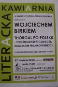 Spotkanie z Wojciechem Birkiem w Łodzi