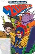 Free Comic Book Day 2018: 2000 A.D. Regened