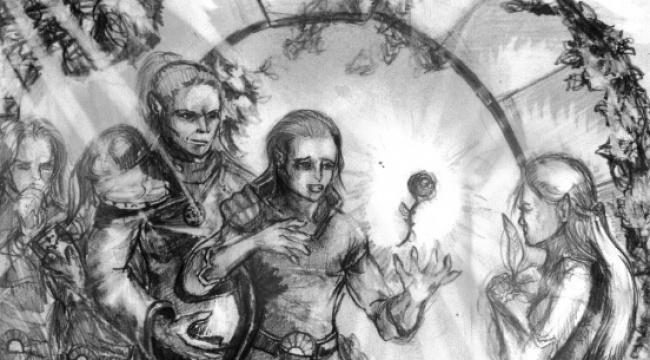 O elfach Wysokiego Rodu i ich magii