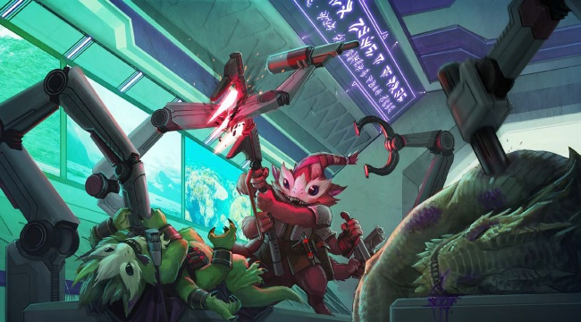 Kosmiczny dungeon crawl